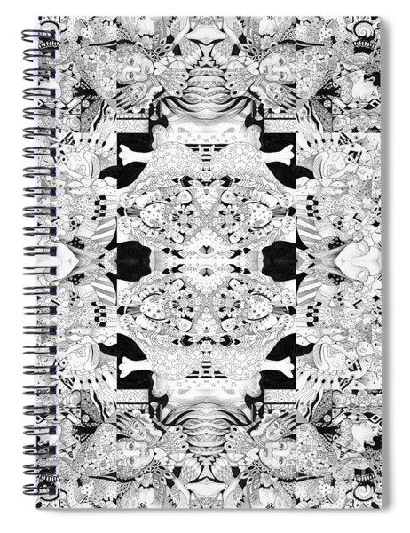 Second Sight 4 Spiral Notebook