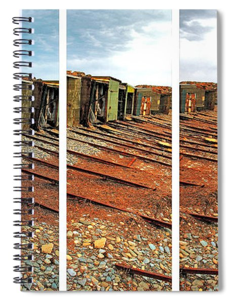 Second Valley Boat Sheds Spiral Notebook