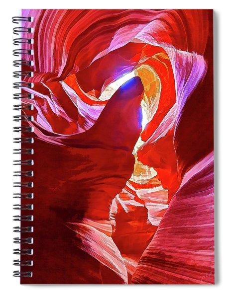 Secret Canyon 1 Spiral Notebook