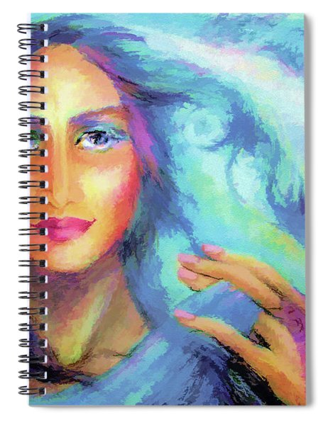 Secret In Blue Spiral Notebook
