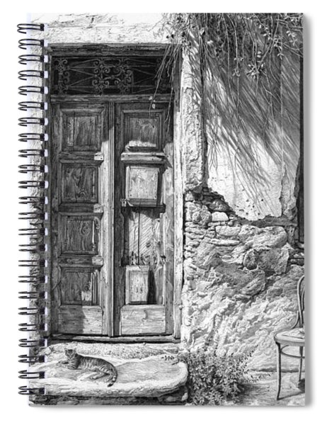 Secret Of The Closed Doors Spiral Notebook