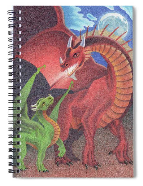 Secrets Of The Flame Spiral Notebook