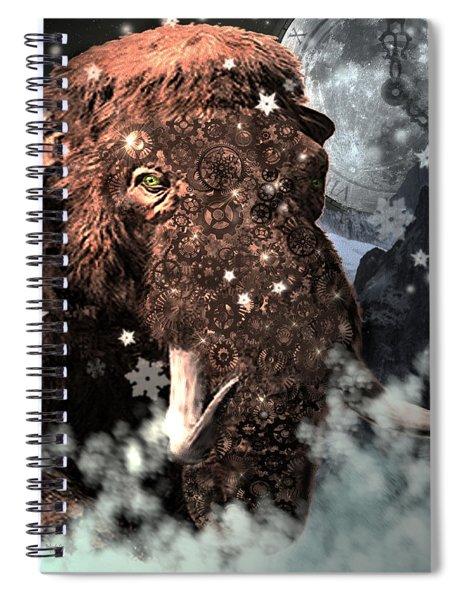 Secrets Of Time Spiral Notebook