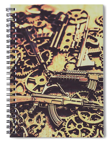 Security Stockpile Spiral Notebook