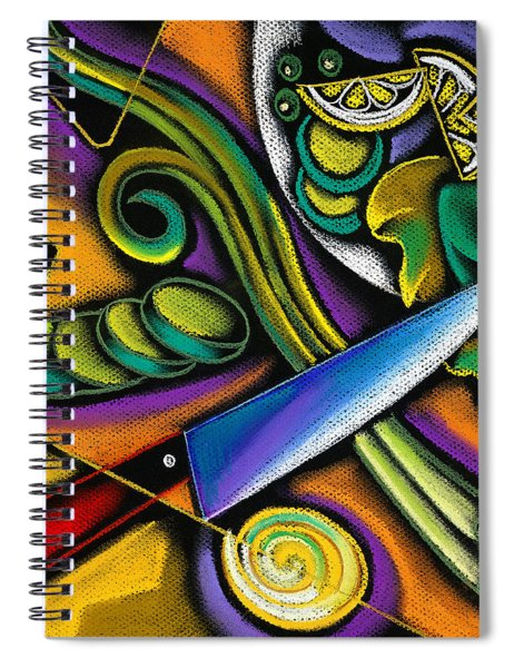 Tasty Salad Spiral Notebook