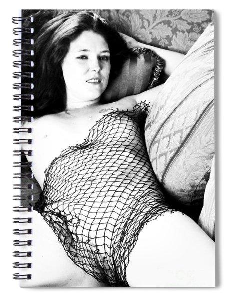 Seduction Of A Strumpet Spiral Notebook