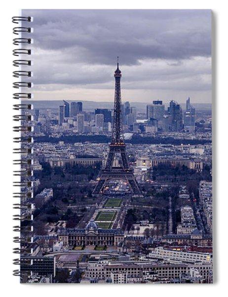 See Paris As Birds Do Spiral Notebook
