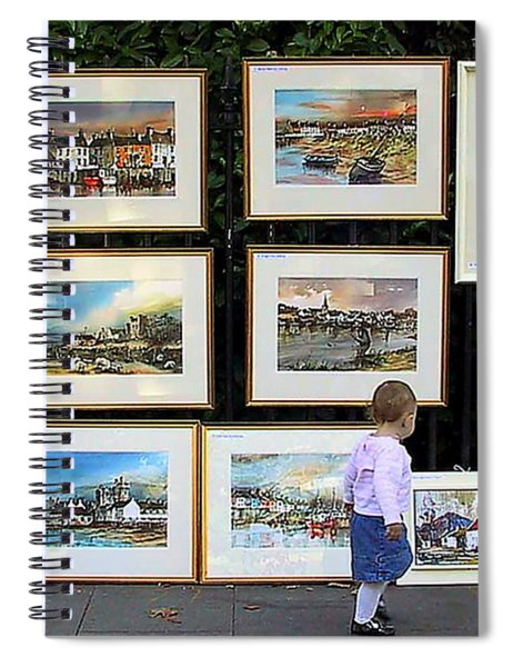1500 Images Of Ireland........... Buy One A Year And  You Will Have A Starter Collection In 5 Years. Spiral Notebook