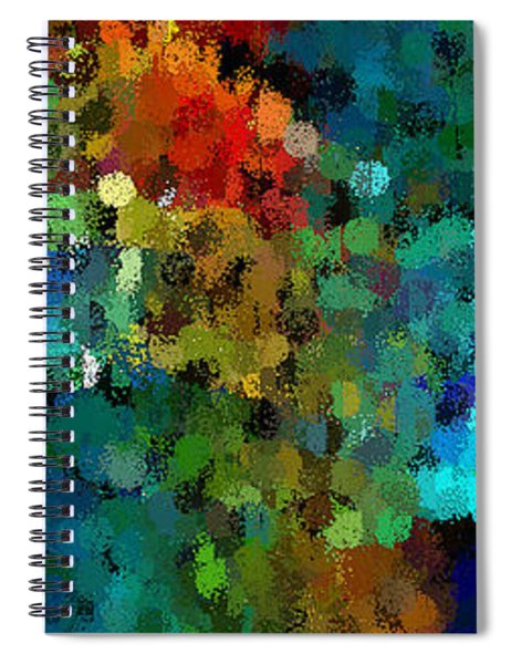 Seeing In The Rain Spiral Notebook