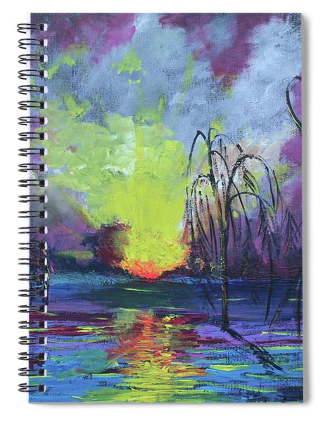 Seeing Through The Truth Spiral Notebook