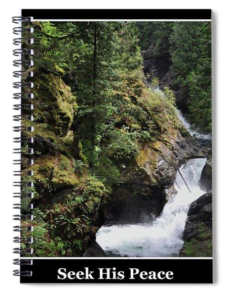 Seek His Peace Spiral Notebook