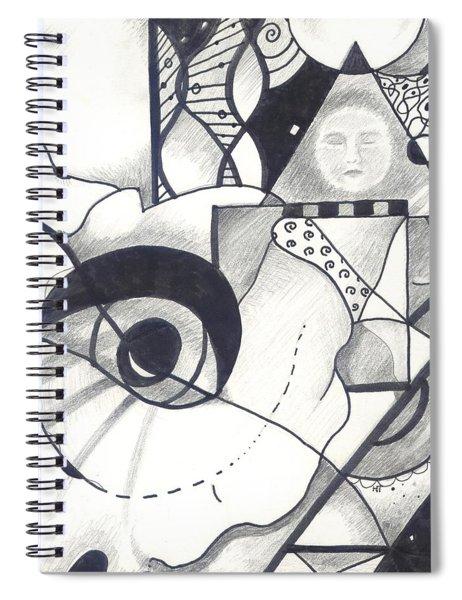 Seeking Comfort Spiral Notebook