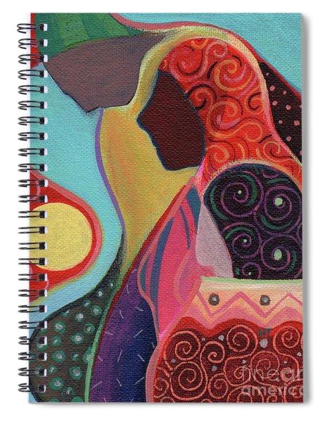 Seeking Shelter Spiral Notebook