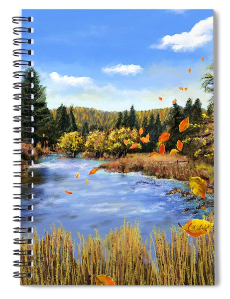 Seeley Montana Fall Spiral Notebook