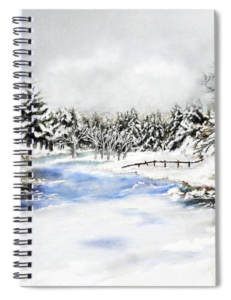 Seeley Montana Winter Spiral Notebook