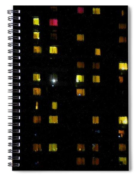 Seen And Unseen Spiral Notebook
