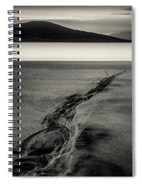 Seilebost Sand Tracks Spiral Notebook
