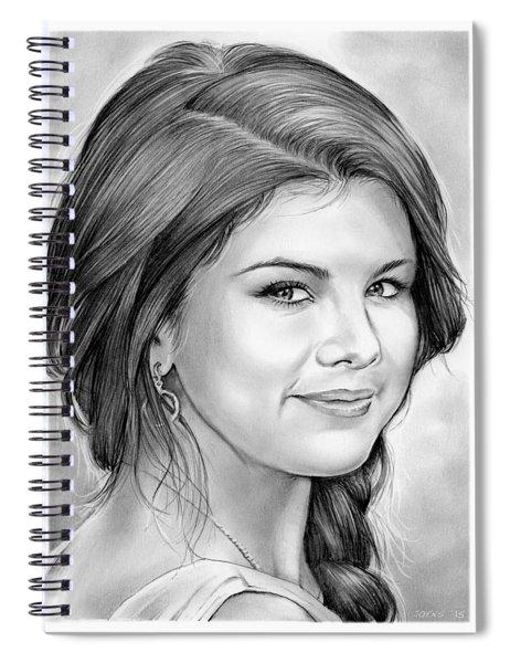 Selena Gomez Spiral Notebook