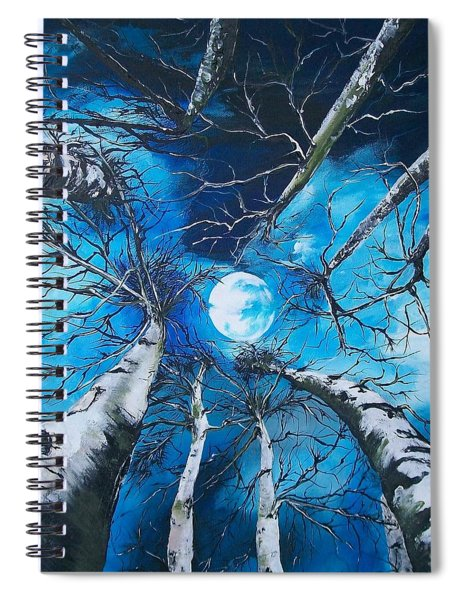 Selenophilia Spiral Notebook