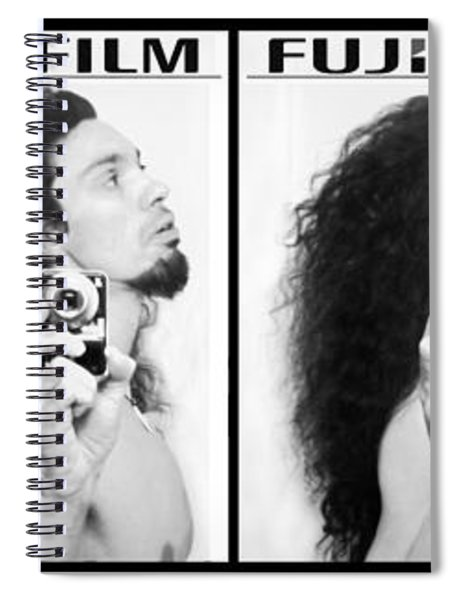Self Portrait Progression Of Self Deception Spiral Notebook