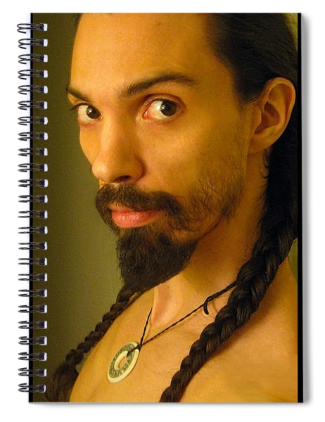 Self Portrait The Native Within Me Spiral Notebook
