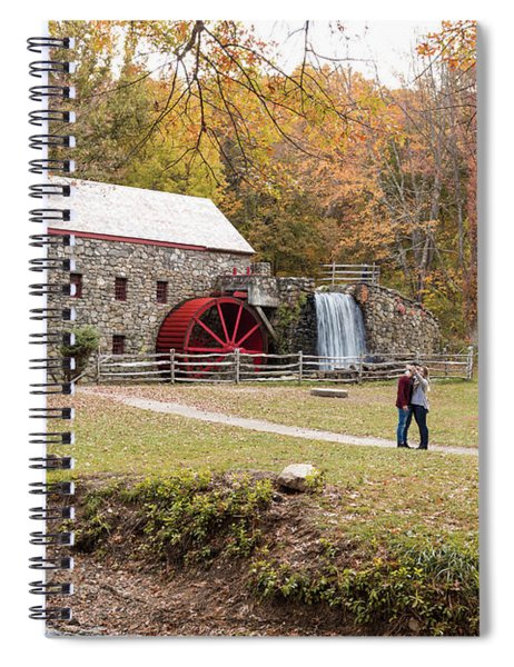 Selfie In Autumn Spiral Notebook