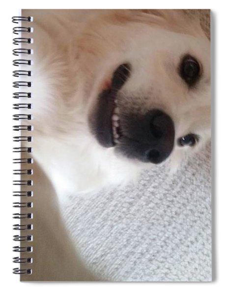 Sneaky Selfie Spiral Notebook