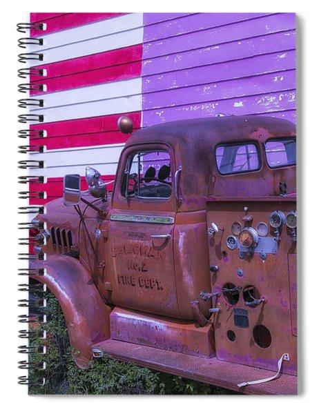 Seligman Fire Dept Engine Spiral Notebook