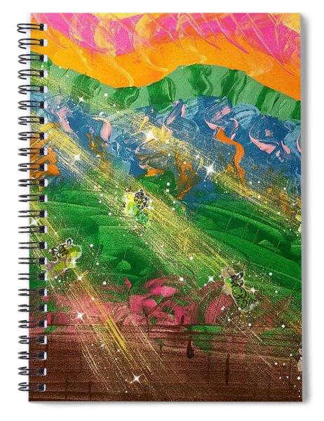 Sending Some Sonshine Spiral Notebook