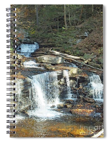 Delaware And Seneca Falls - Ricketts Glen Spiral Notebook