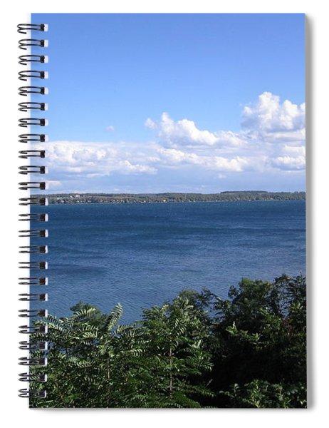 Seneca Lake Finger Lakes New York Spiral Notebook