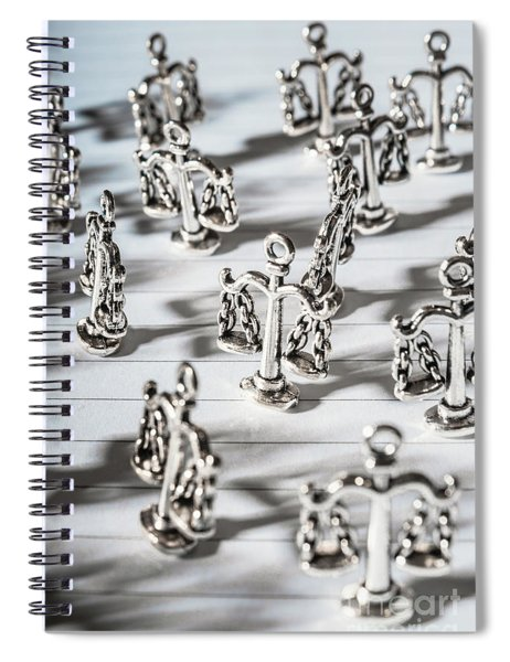 Sentencing In A Legal Measure Spiral Notebook