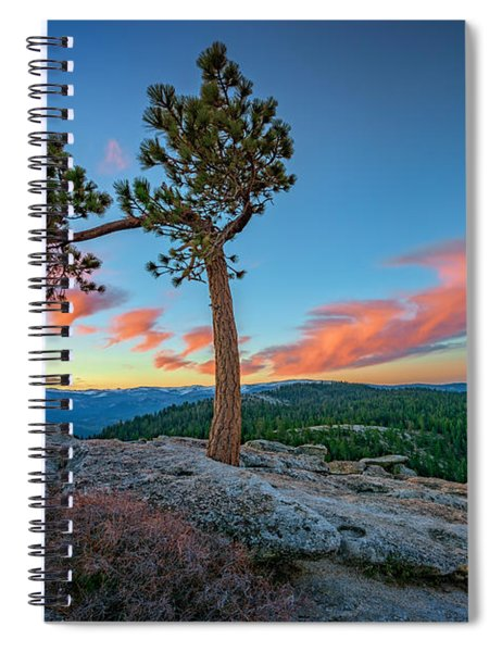 Sentinel Dawn Spiral Notebook