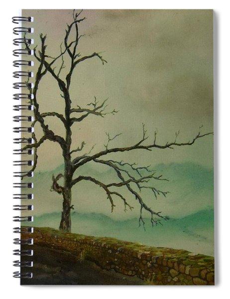 Sentinel Of The Shenandoah  Spiral Notebook