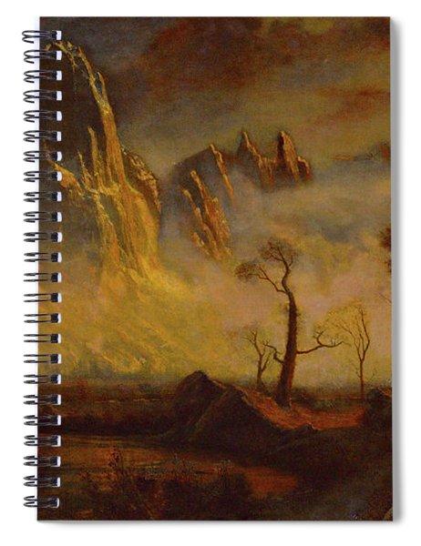 Sentinel Rock Spiral Notebook