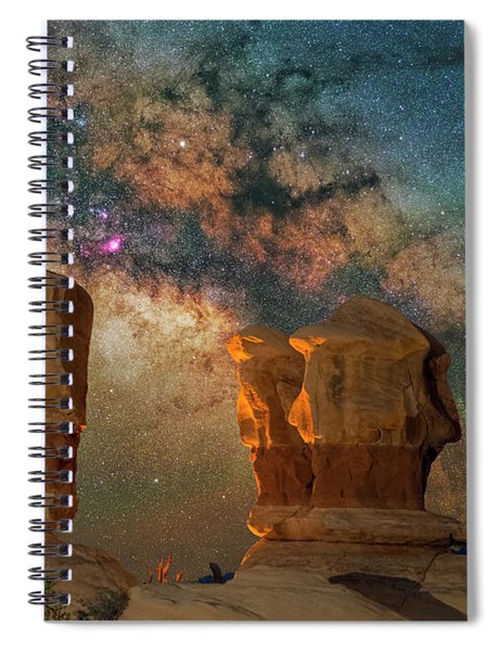 Sentinels Of The Night Spiral Notebook