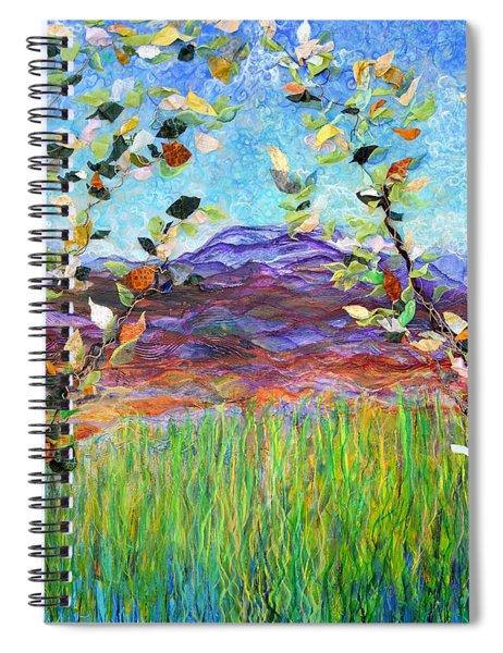 Sentries Diptych Spiral Notebook