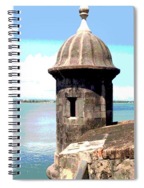 Sentry Box In El Morro Spiral Notebook