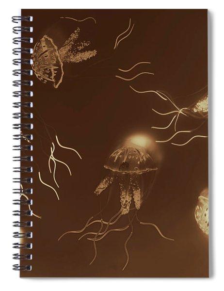 Sepia Seas Spiral Notebook