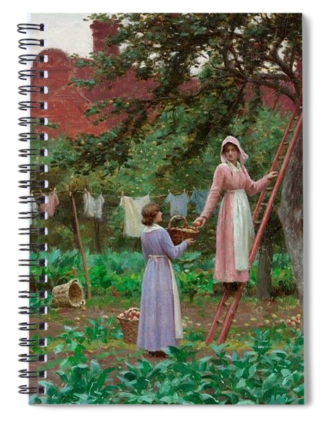 September Spiral Notebook