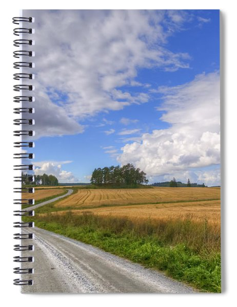 September In The Countryside Spiral Notebook
