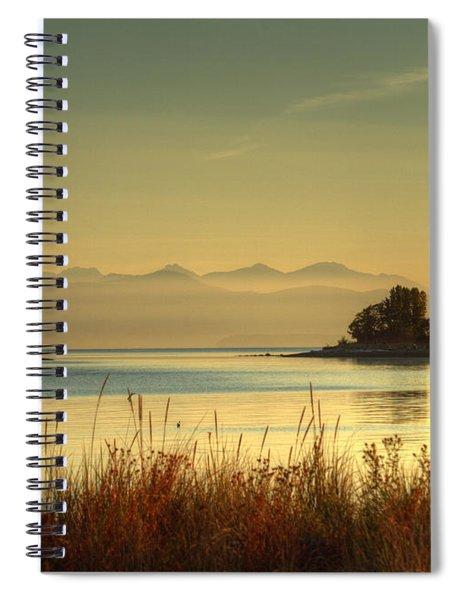 September Morn Spiral Notebook