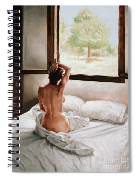 September Morning Spiral Notebook