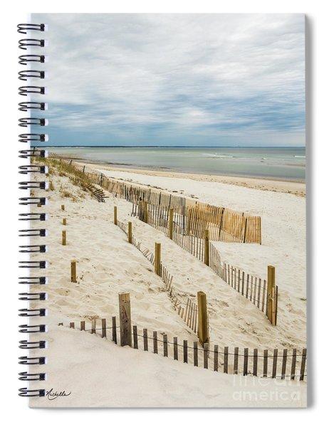 Serene Bay View Spiral Notebook