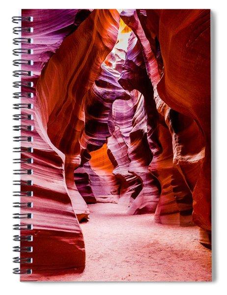 Serene Light Spiral Notebook
