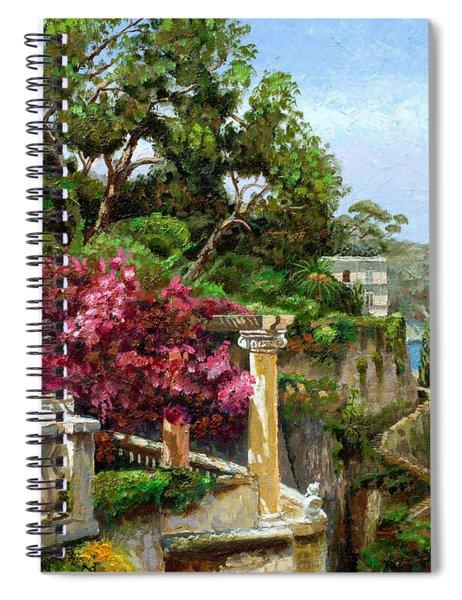 Serene Sorrento Spiral Notebook