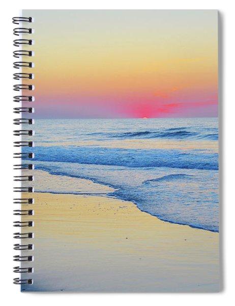 Serenity Beach Sunrise Spiral Notebook