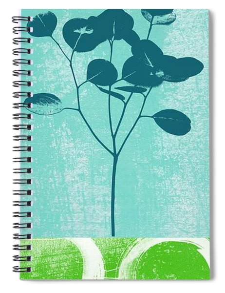 Serenity Spiral Notebook by Linda Woods