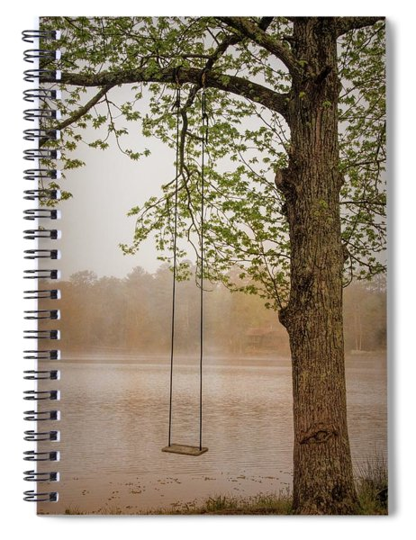 Serenity On The Lake Spiral Notebook