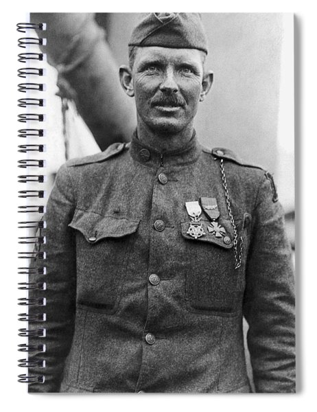 Sergeant York - World War I Portrait Spiral Notebook